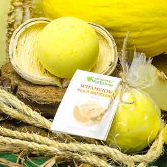 Witaminowa kula kąpielowa Melon