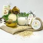 Peeling naturalne do twarzy Mleko, miód, owsianka