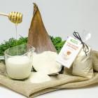 Mleko kąpielowe z solą morską Miód i mleko