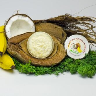 Peeling naturalny do twarzy Banan i kokos